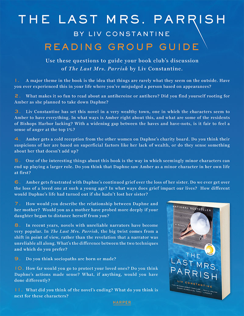The-Last-Mrs-Parrish-Reading-Guide